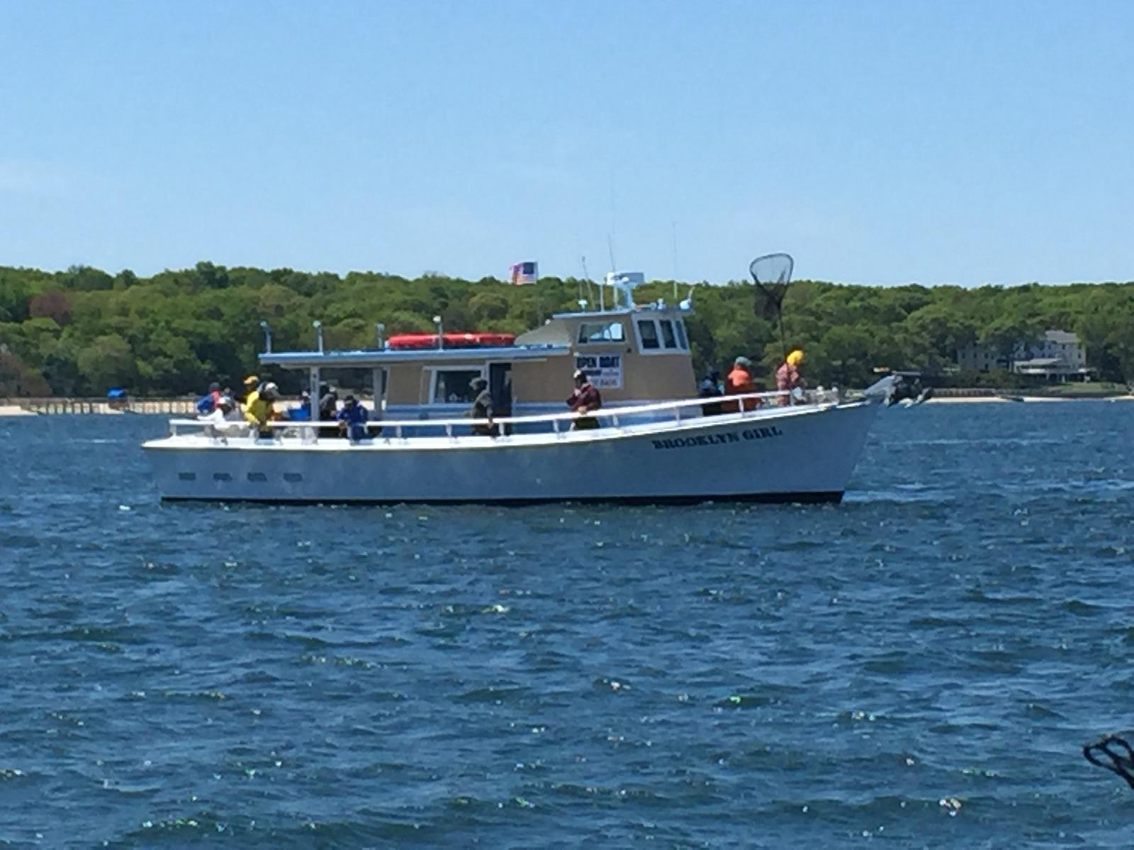 Brooklyn girl fishing charter join our email club for Brooklyn fishing boat